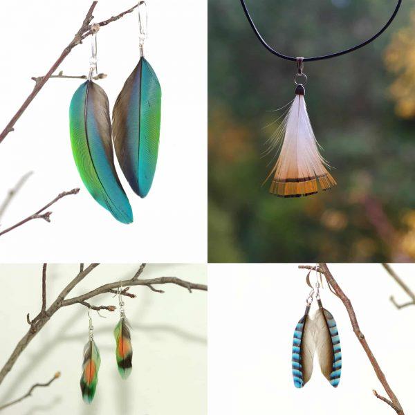 Bijoux Fly : plumes minimalistes