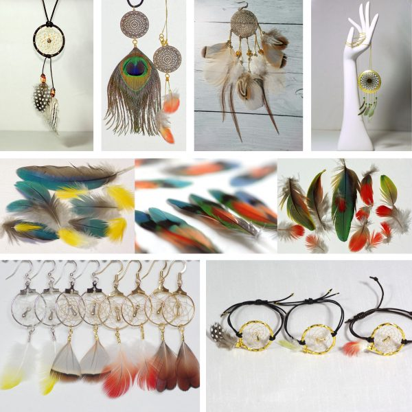 Bijoux d'inspiration dreamcatcher