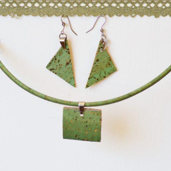 bijoux Mis Cork : pendentifs en liège
