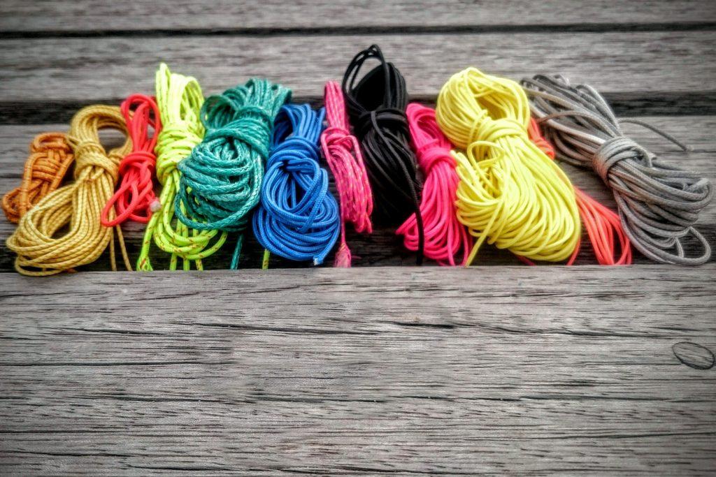 Bouts marins de toutes les couleurs