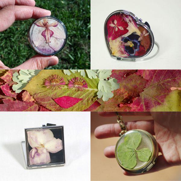 Accessoires de sac (décor végétal)