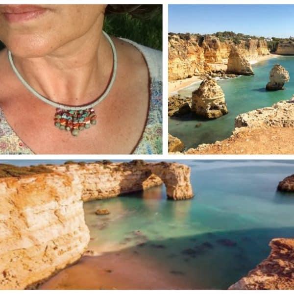 Bijoux Algarve : aux couleurs de roche et d'eau