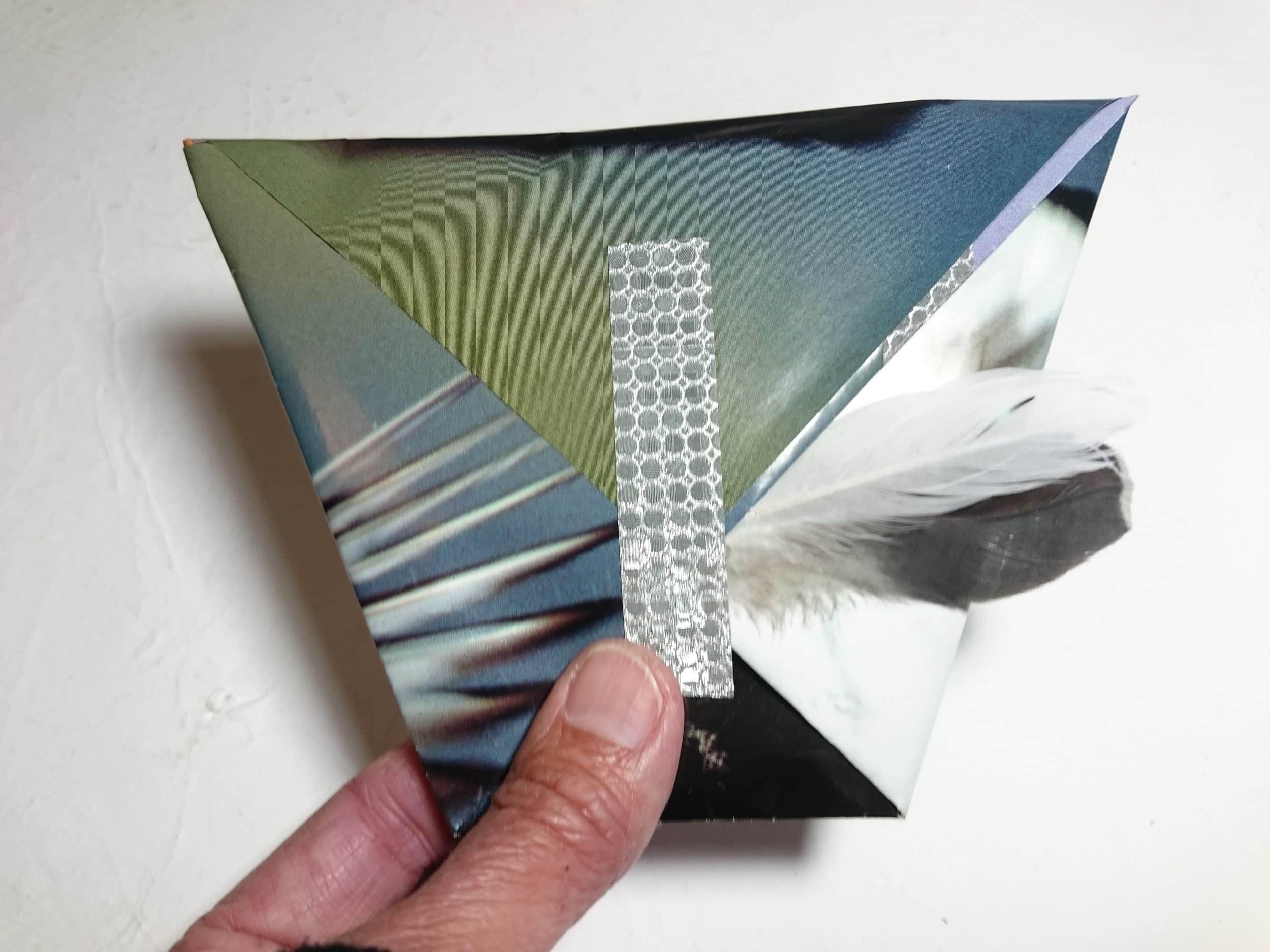pochette cadeau origami